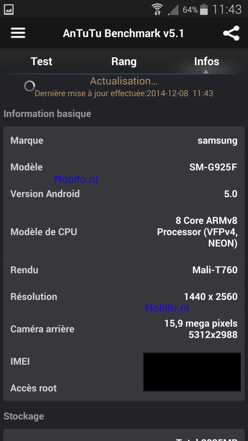 Antutu Samsung S6 Mobifo