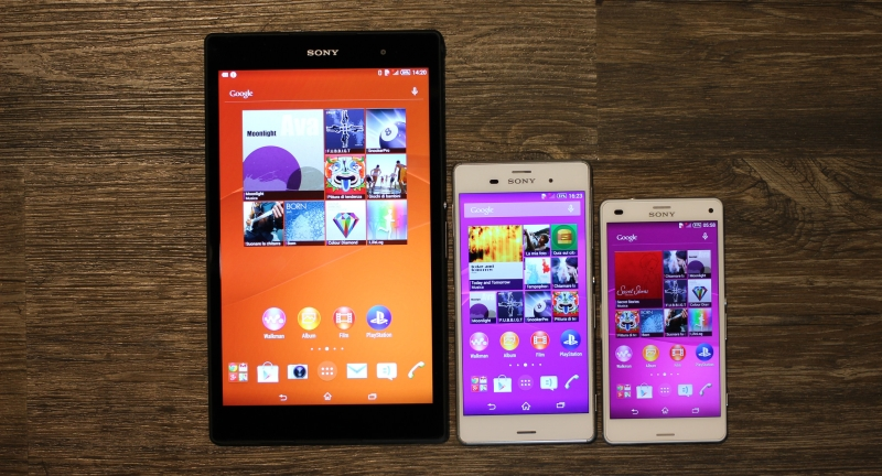 Sony Xperia Z3 Tablet Compact family