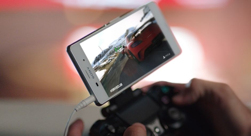 Xperia Z3 Dualshock Remote Play