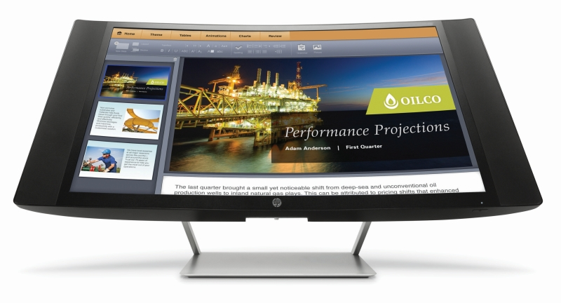 HP_Curve-Monitor_2 CES 2015