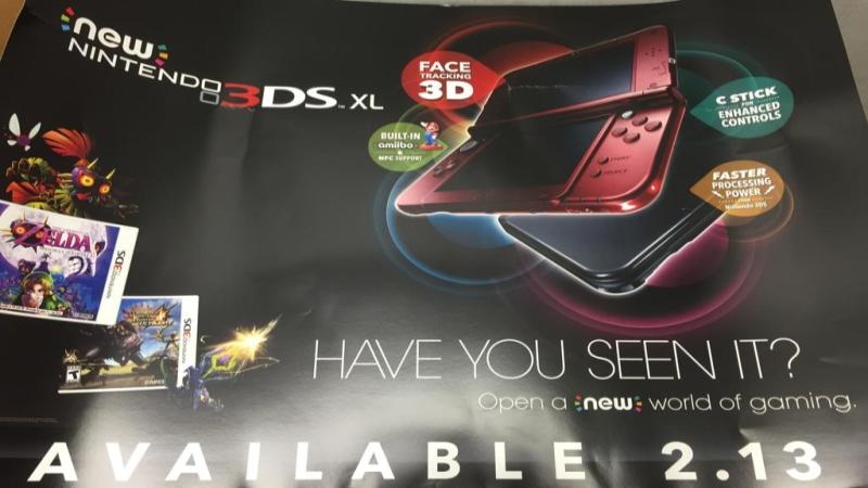 Nintendo 3DS XL leak NeoGAF