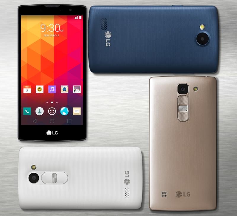 LG Magna, Spirit, Leon, Joy 2