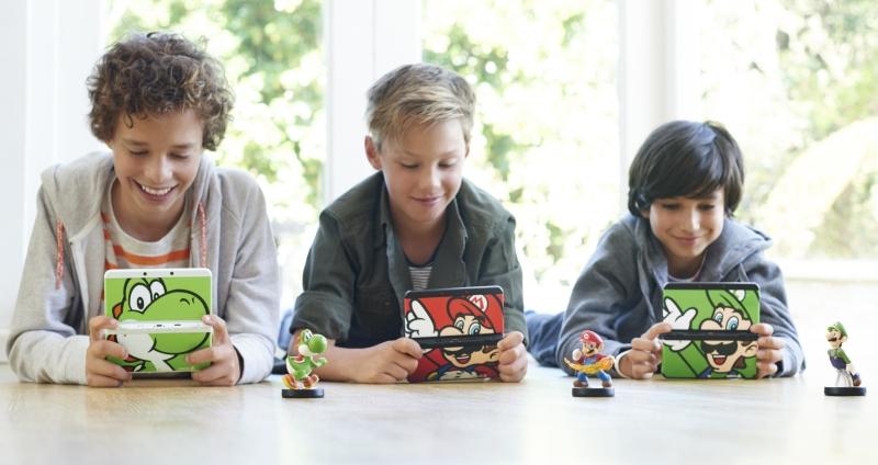 Nintendo 3DS XL amiibo multi