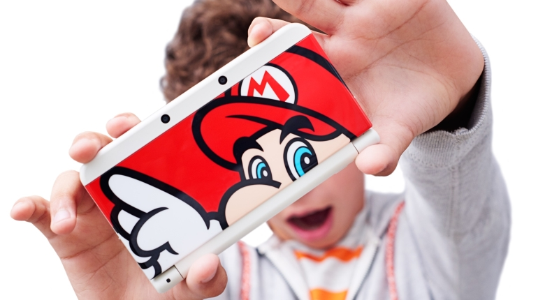 Nintendo 3DS XL coverplate