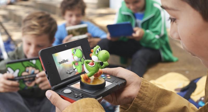 Nintendo 3DS XL review amiibo