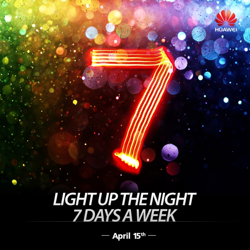 Huawei 15 April teaser 2
