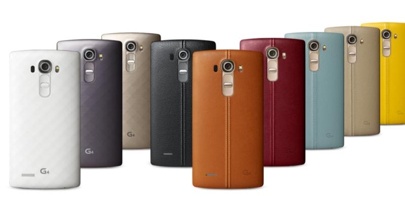 LG G4 leather back Google+ leak lead