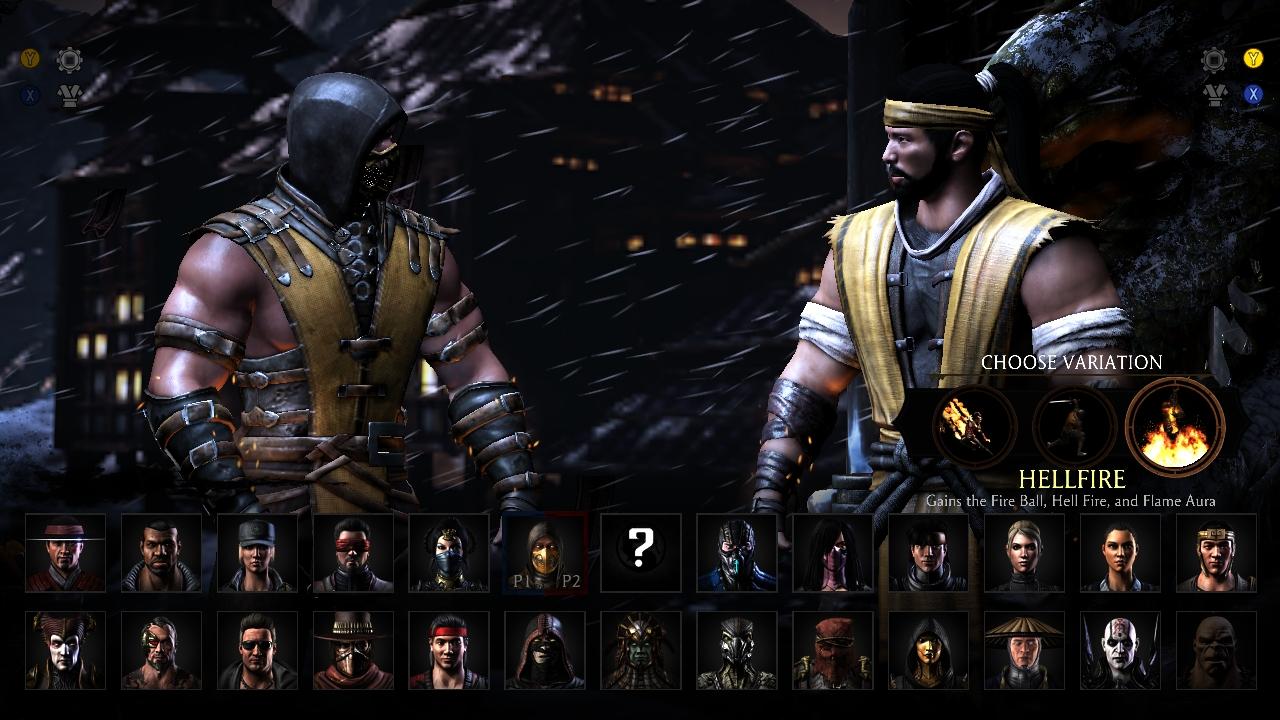 Mortal Kombat X screen 002