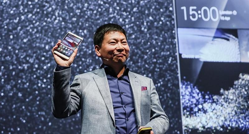Richard Yu Huawei P8 Max launch