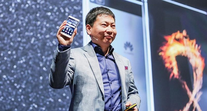 Richard Yu Huawei P8 launch
