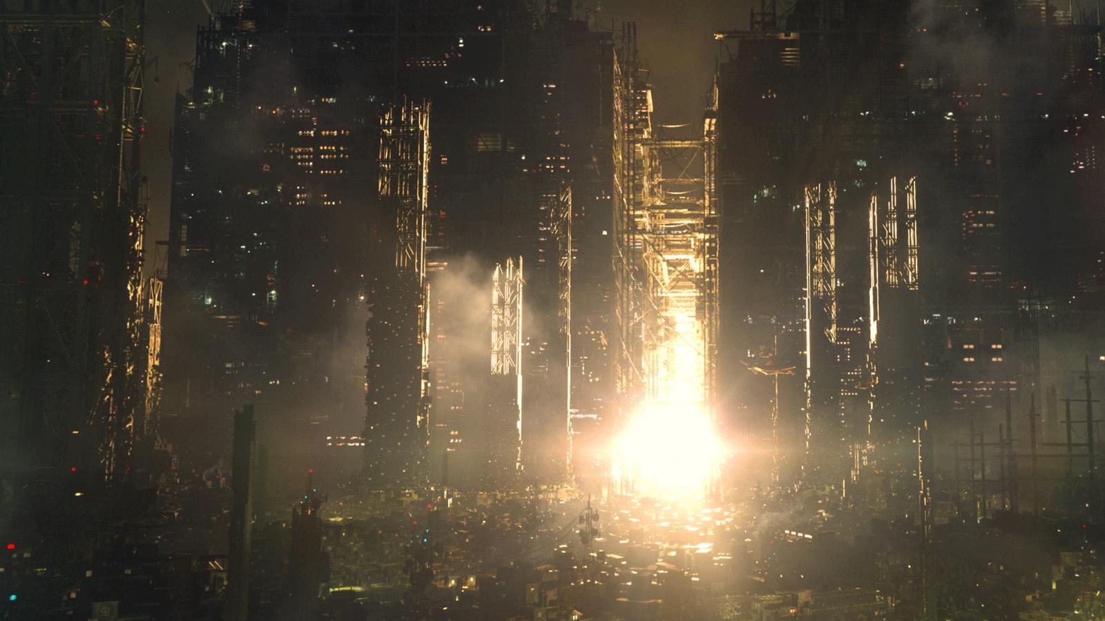 Deus Ex Mankind Divided environment render