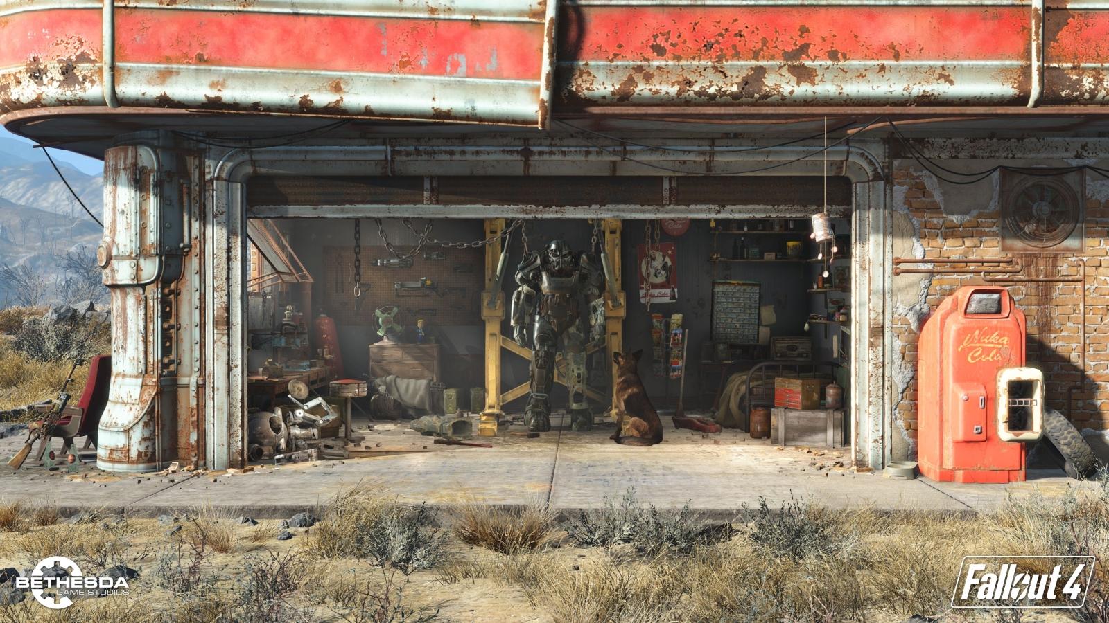 Fallout 4 garage 1