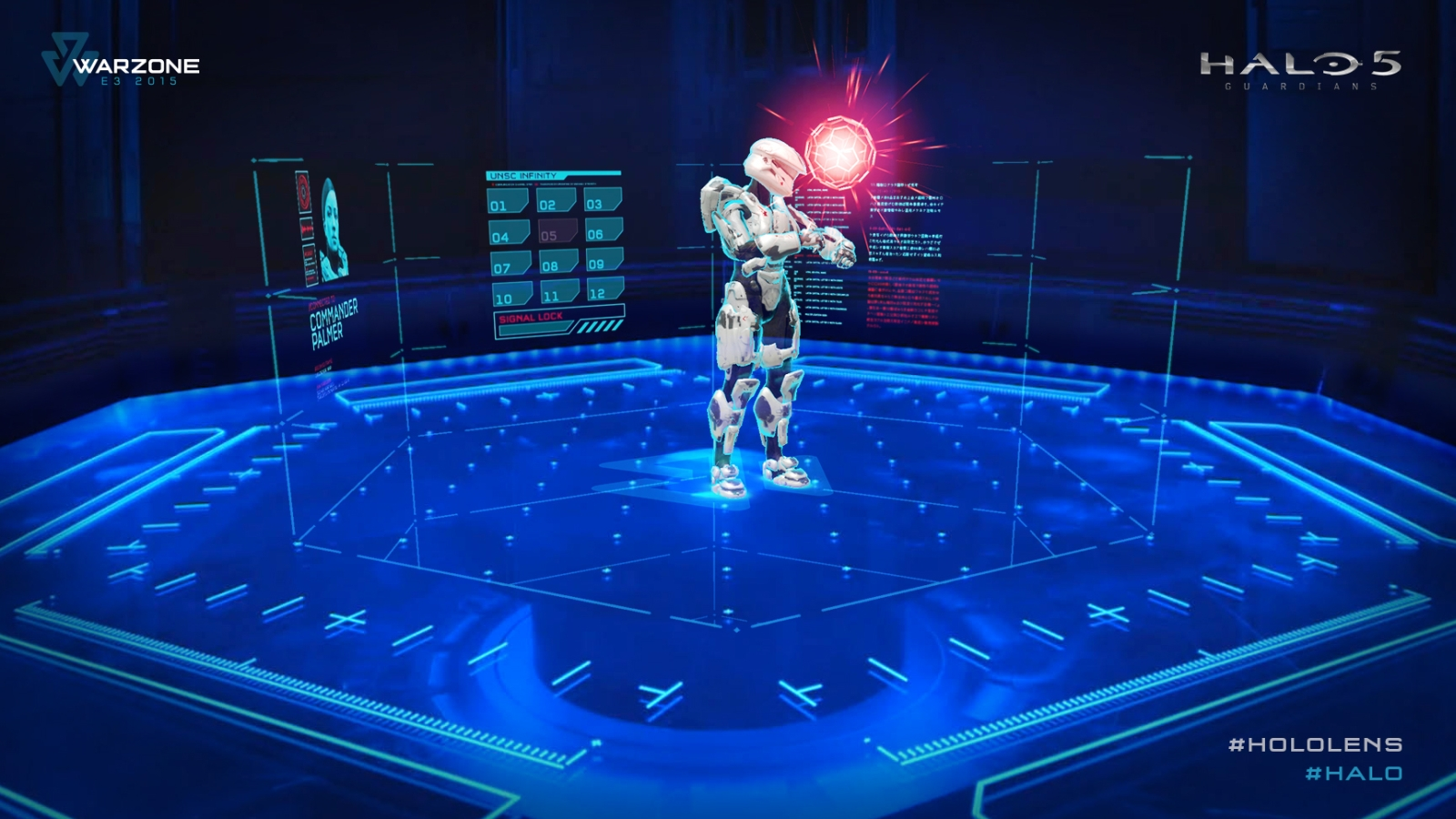 HoloLens Halo Warzone E3 2015 demo