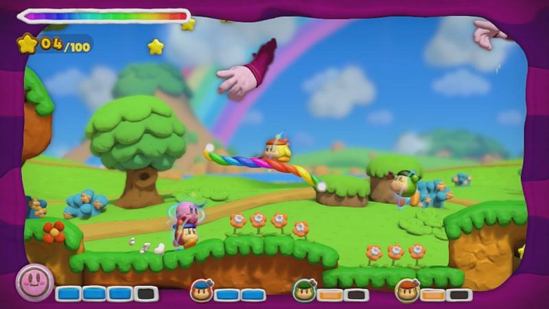 Kirby and the Rainbow Paintbrush 2