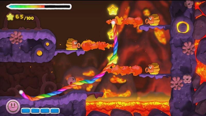 Kirby and the Rainbow Paintbrush 3