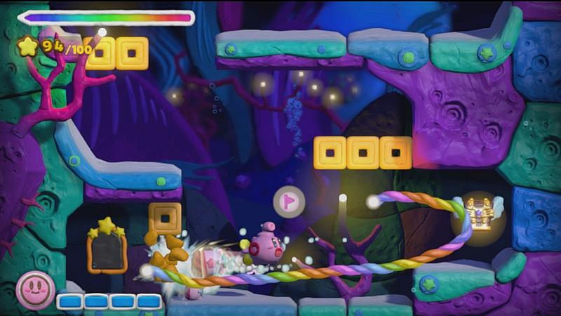 Kirby and the Rainbow Paintbrush 5