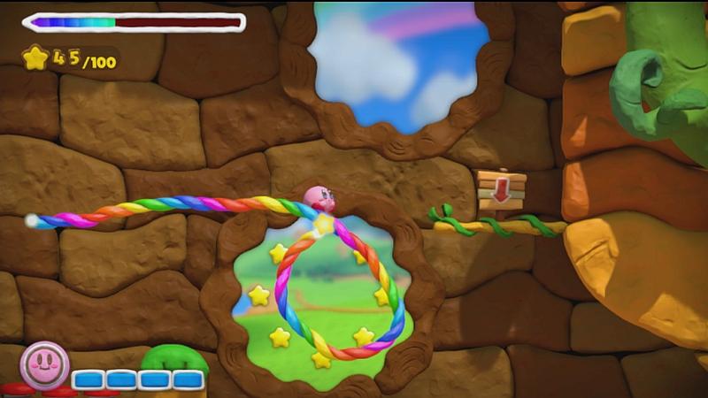 Kirby and the Rainbow Paintbrush 6
