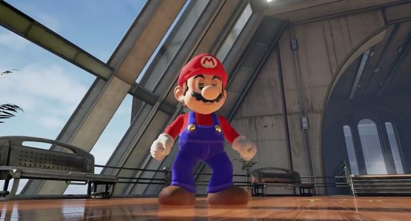 Mario Unreal Engine