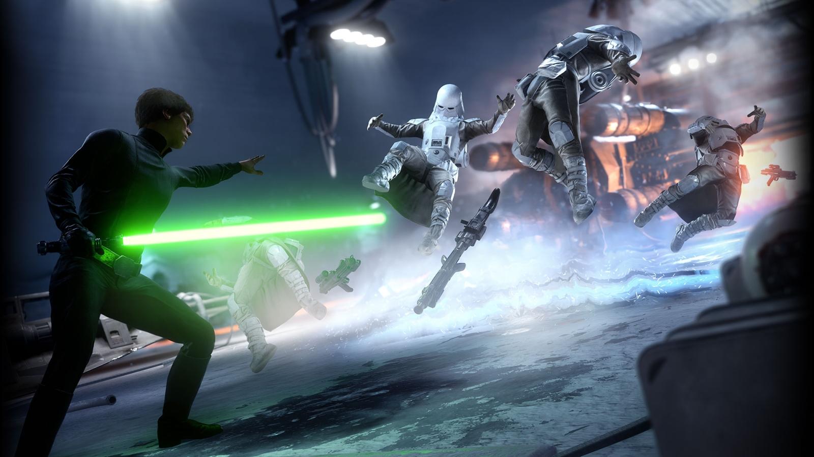 Star Wars Battlefront render