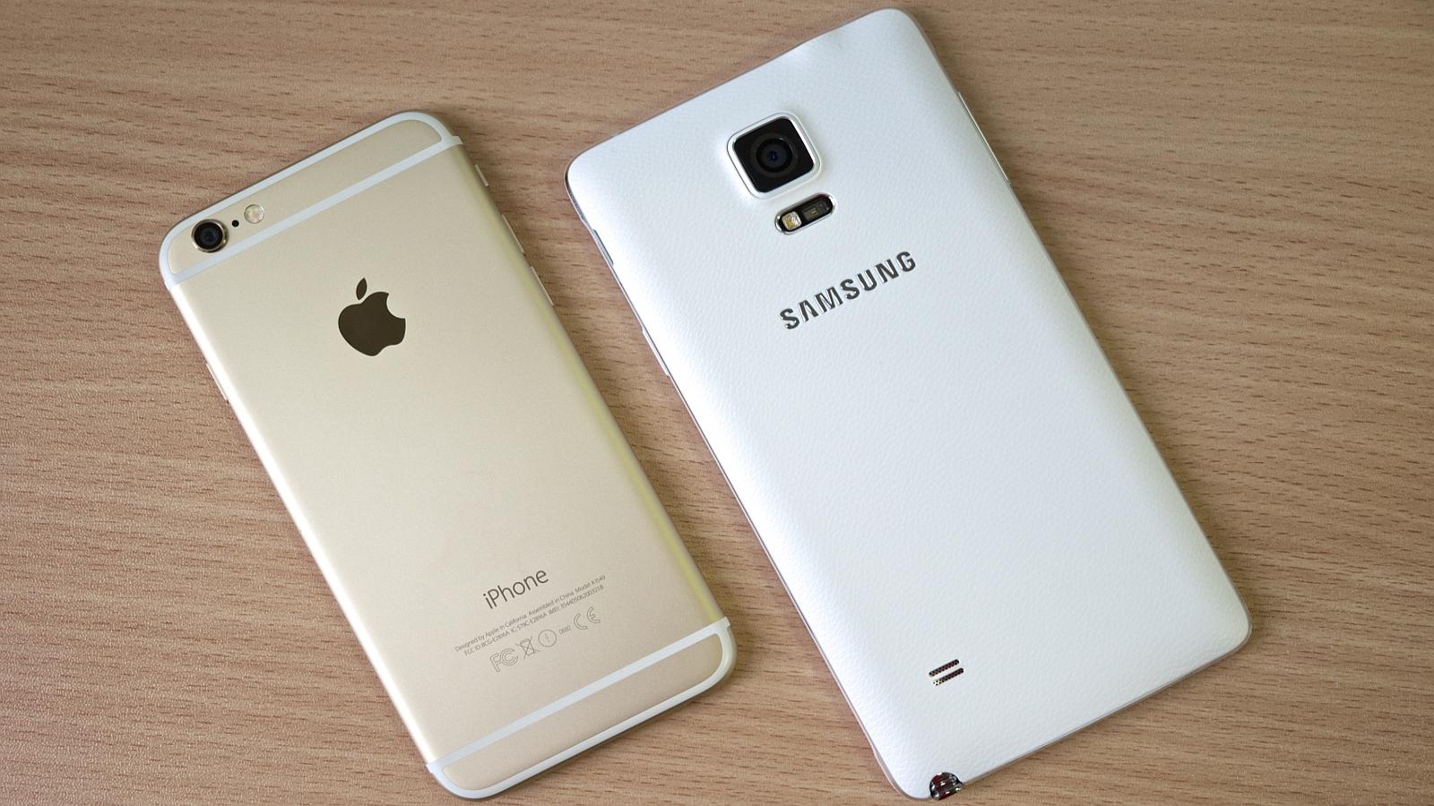 iPhone 6 Sam Galaxy Note 4 Karlis Dembrans