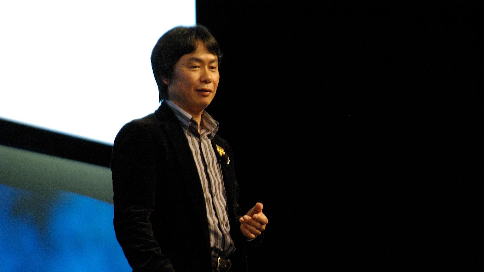 Shigeru Miyamoto Nintendo vincent diamante