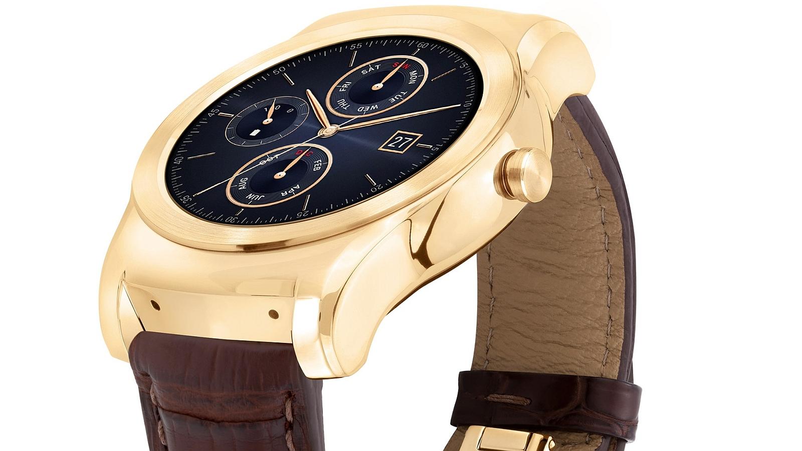 LG Watch Urbane Luxe lead