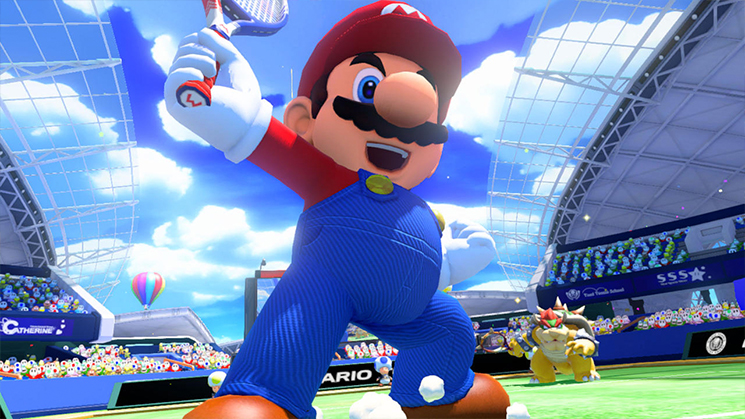 Mario Tennis US review 006