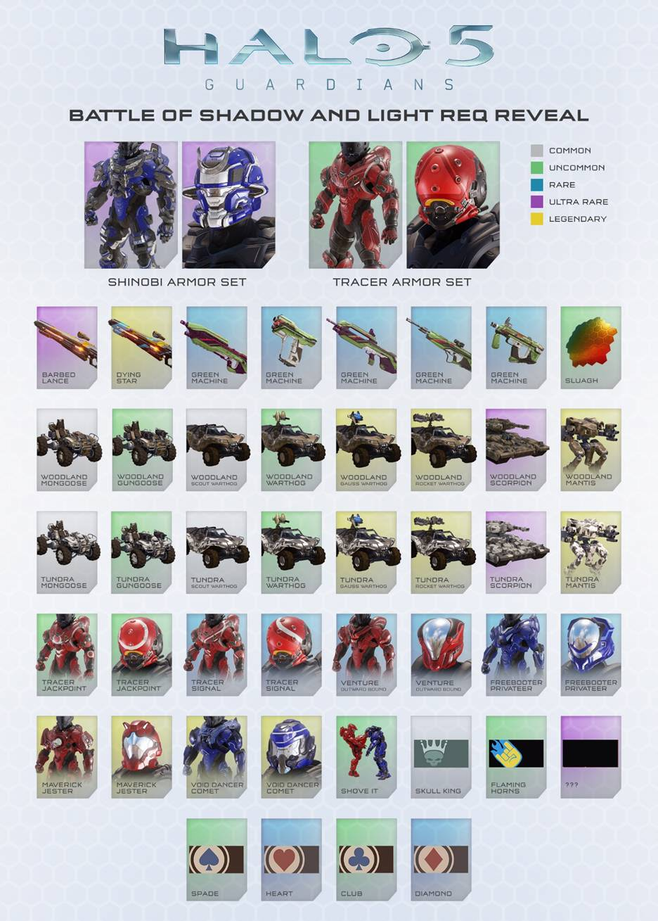 halo 5 guardians battle of shadow and light content