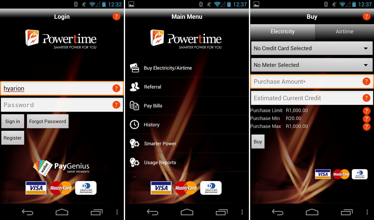powertime android