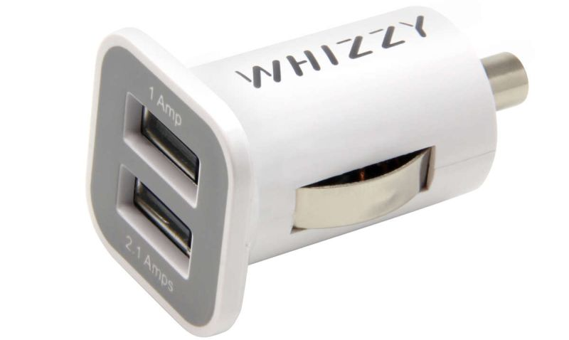 whizzy usb car charger
