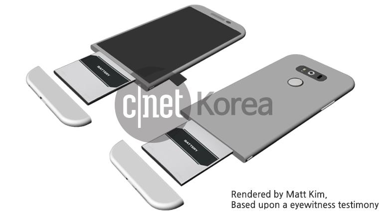 lg g5 render cnet korea
