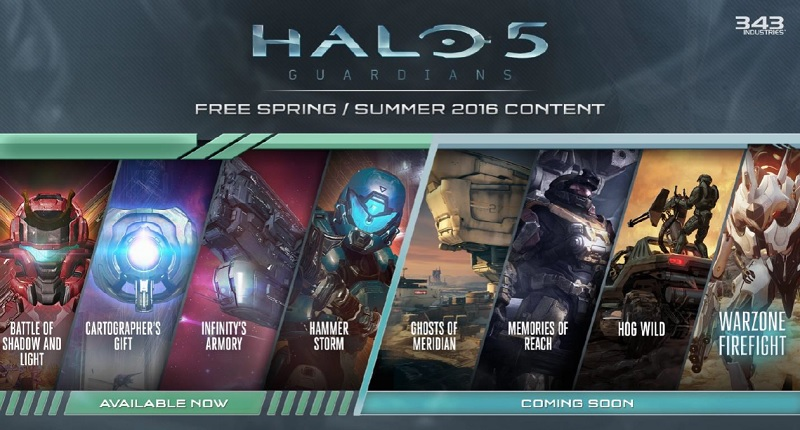 Halo 5: Guardians' Hammer Storm update brings more multiplayer
