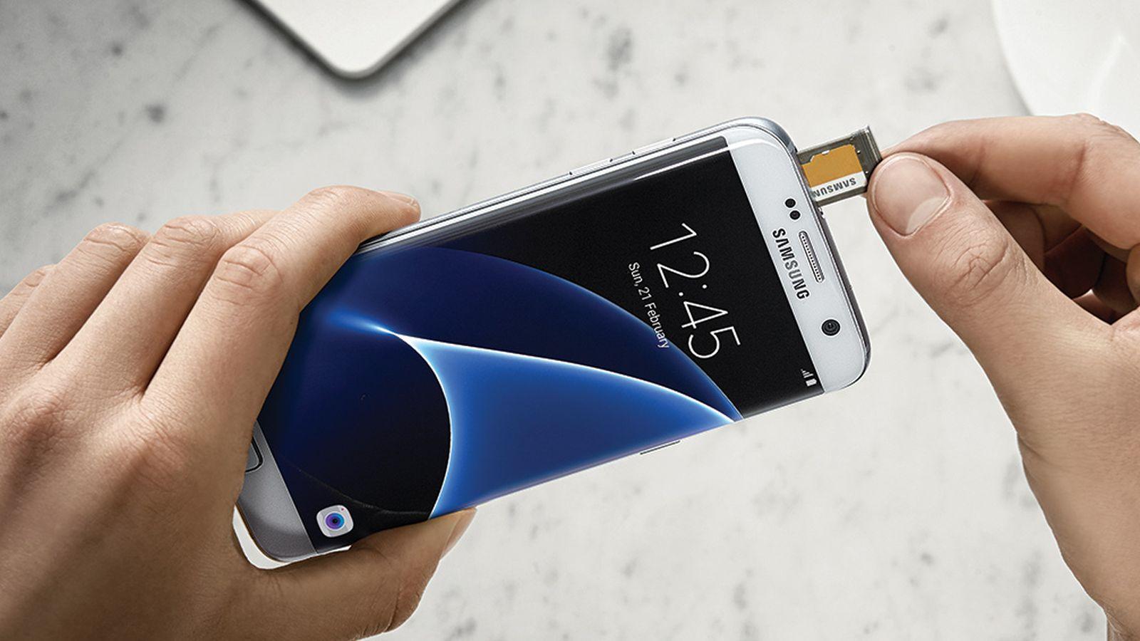 samsung galaxy s7 edge microsd card