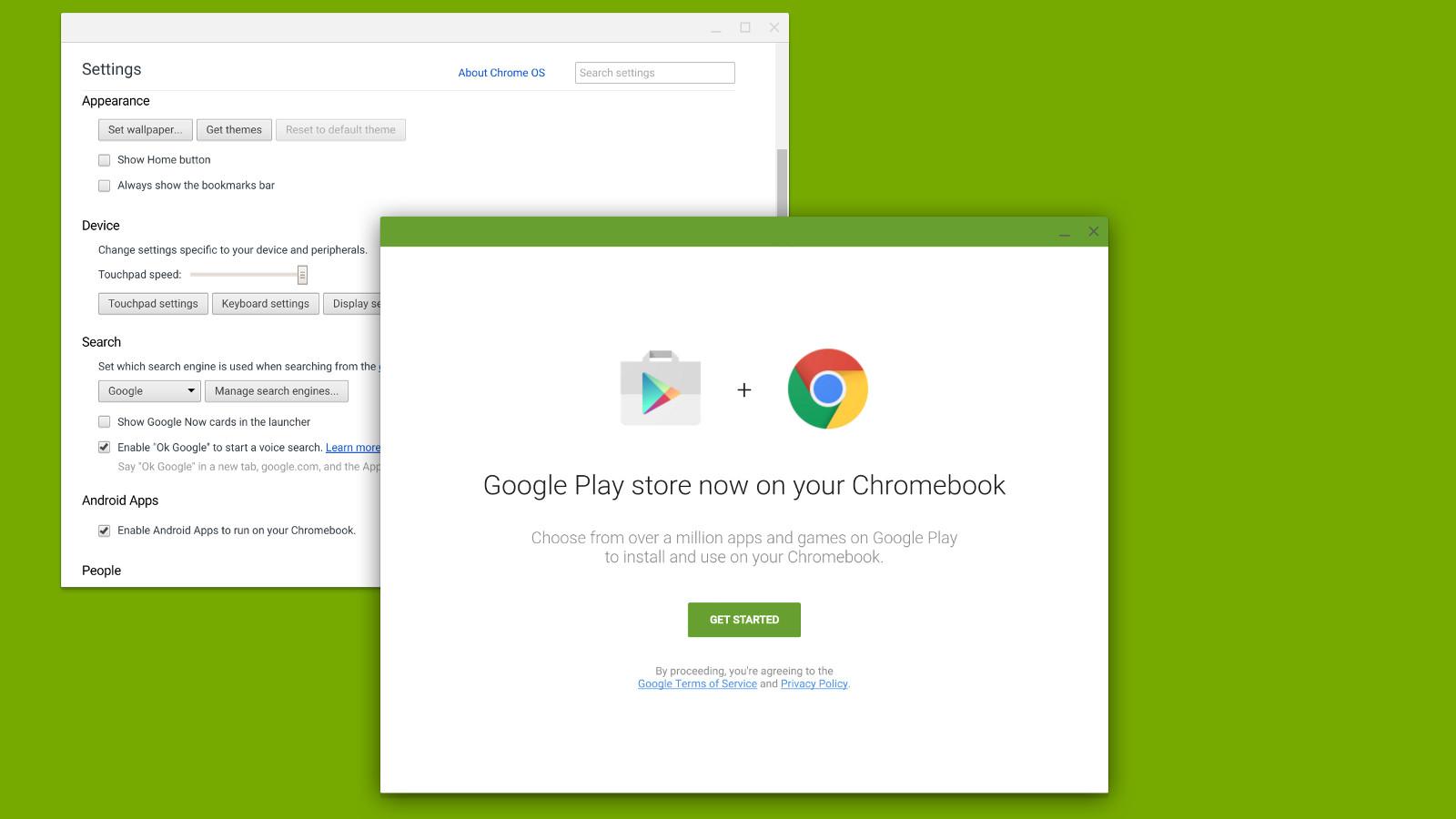 google chrome os play store 1600