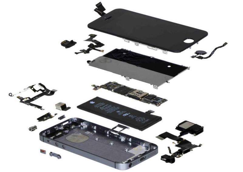 The iPhone SE teardown.