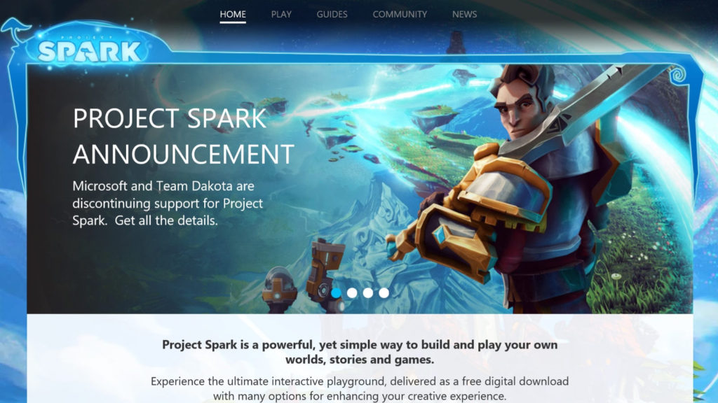 Project Spark by Microsoft