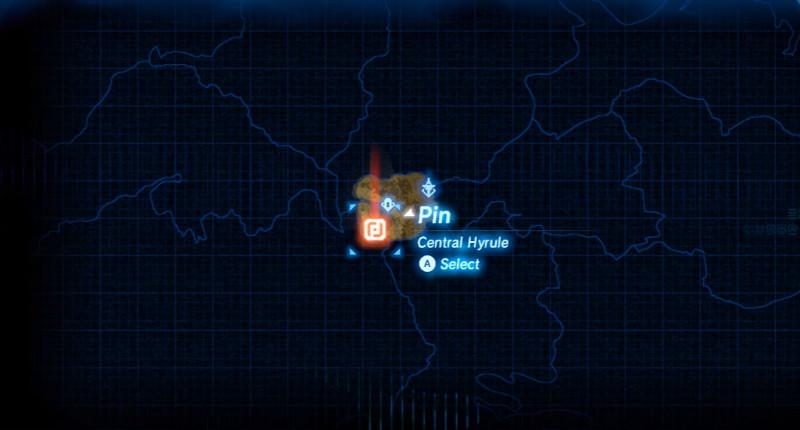 legend of zelda botw map 2