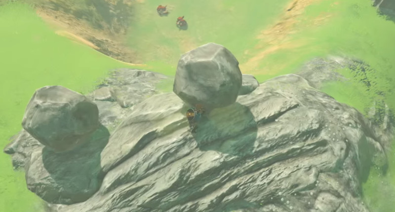 legend of zelda botw physics
