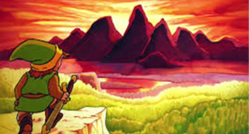legend of zelda original image