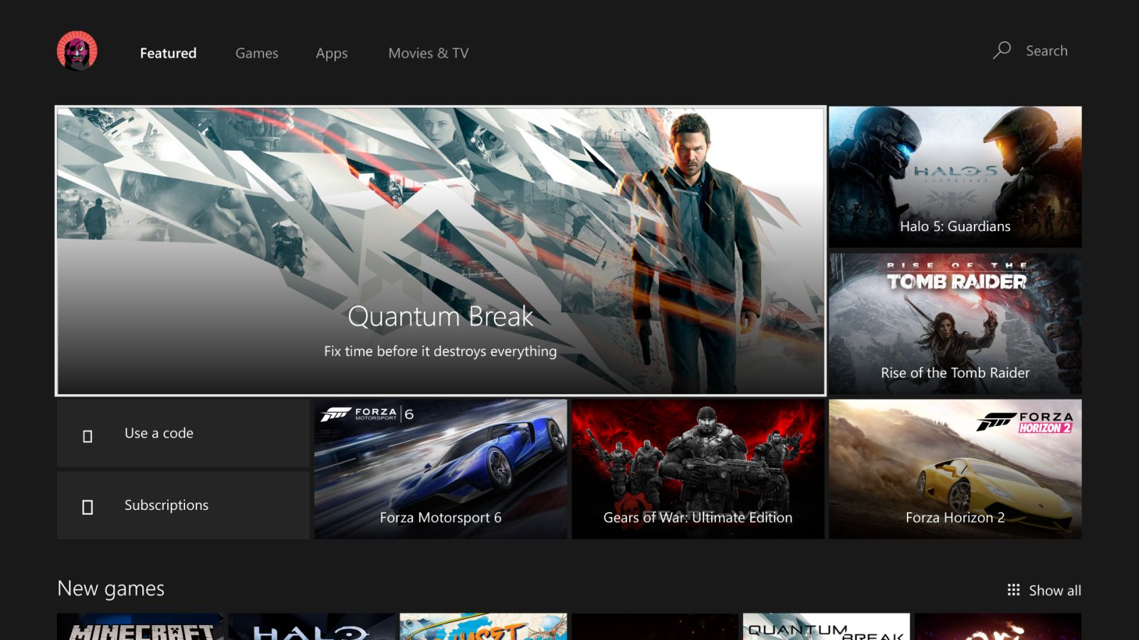 xbox one summer update 2016 1