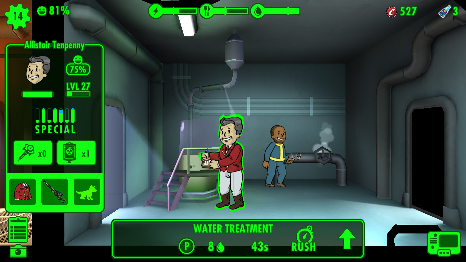 Fallout Shelter (PC) review: Vault-Tec now on PC - Gearburn