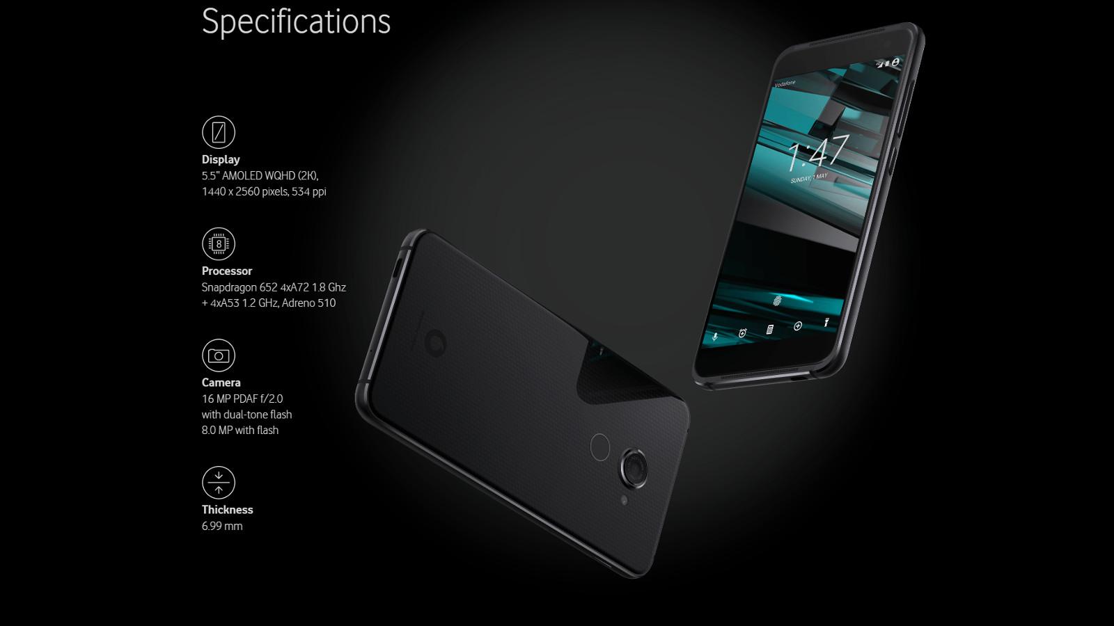 vodafone smart platinum 7 1