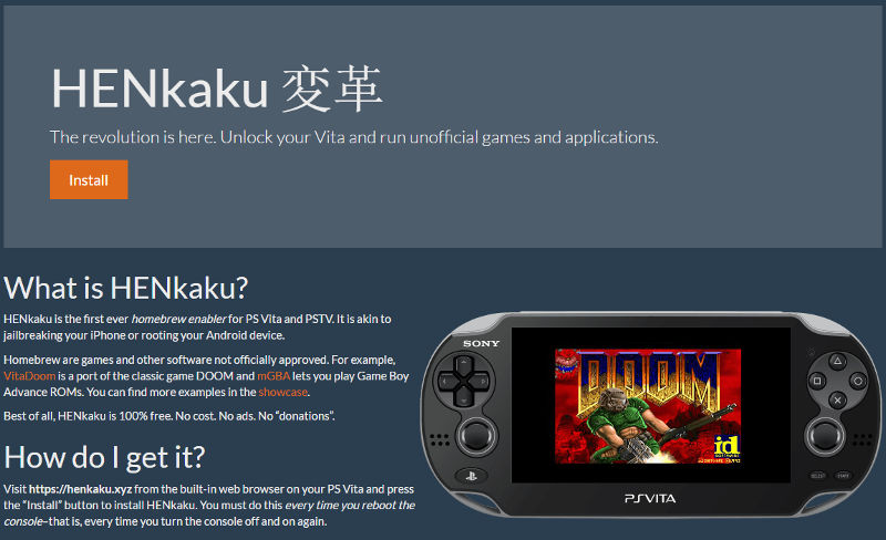 PlayStation Vita has been hacked: here's how to do it - Gearburn