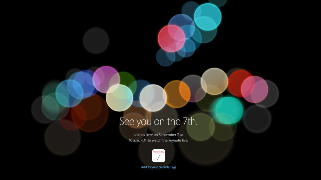 iphone 7 event