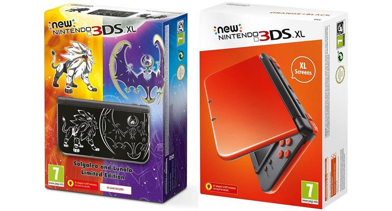 new nintendo 3ds xl colour