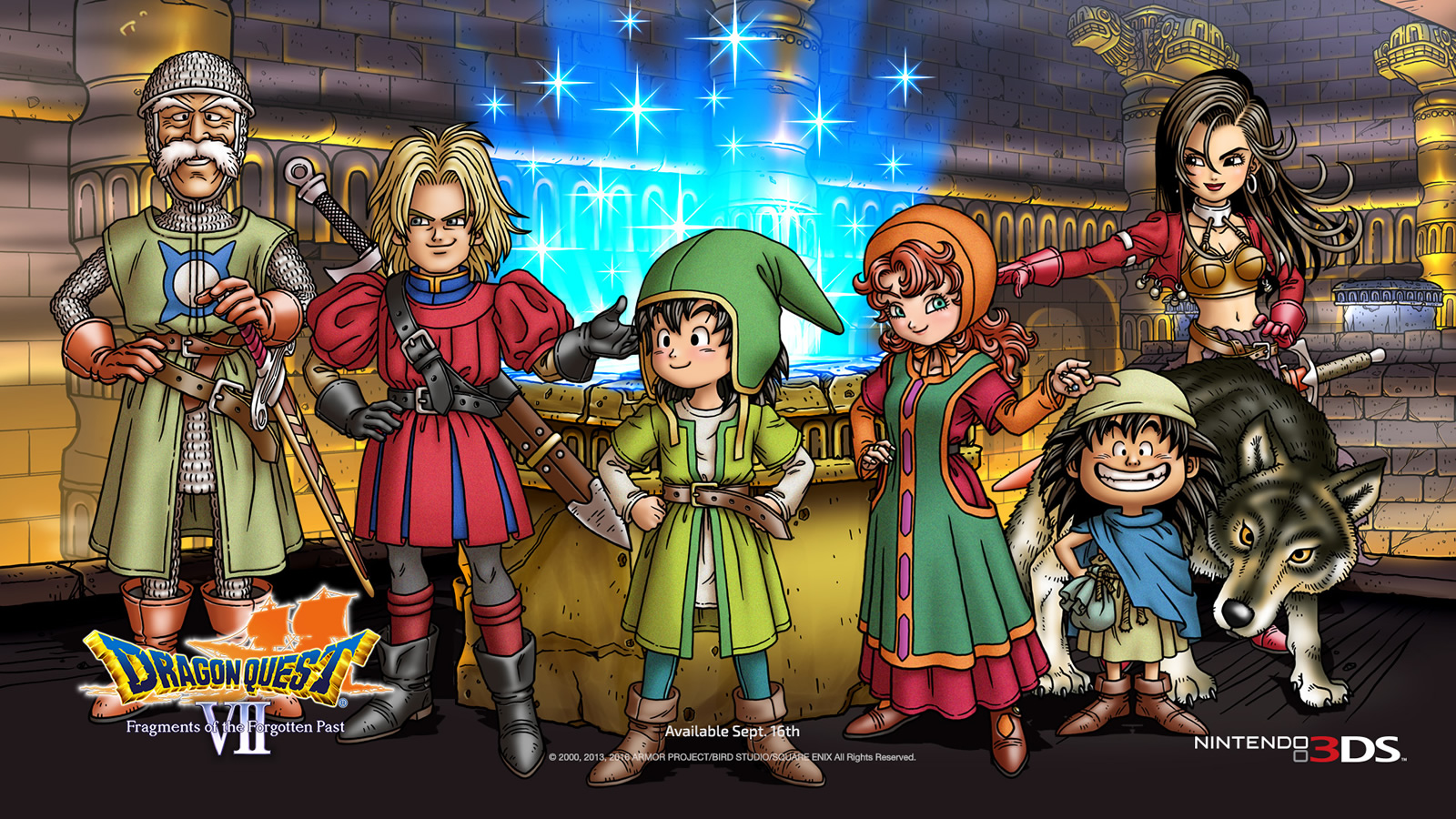 Dragon Quest Vii Fragments Of The Forgotten Past Review 3ds One Of The Best Jrpgs Ever Gearburn