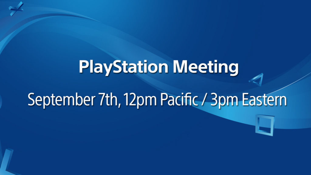 PS4 Neo playstation meeting 7 september