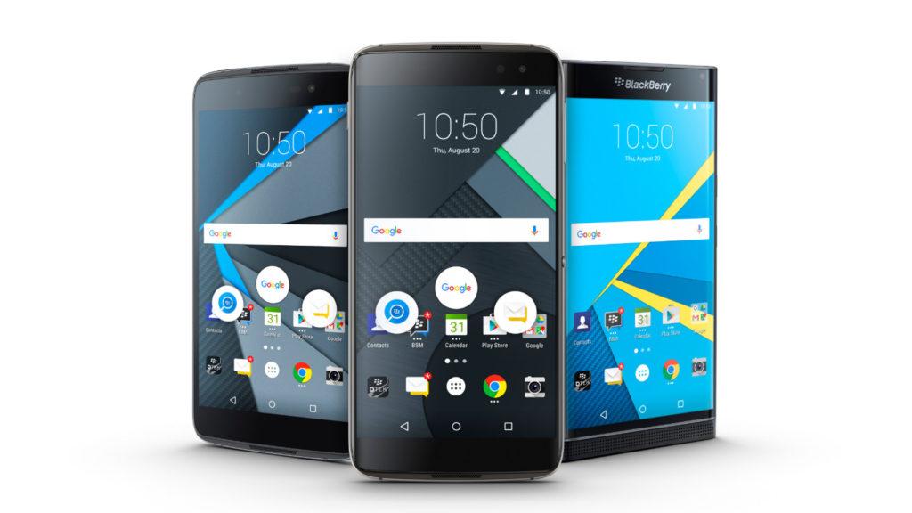 BlackBerry DTEK60 and family