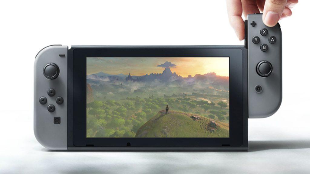 nintendo switch handheld controller nvidia