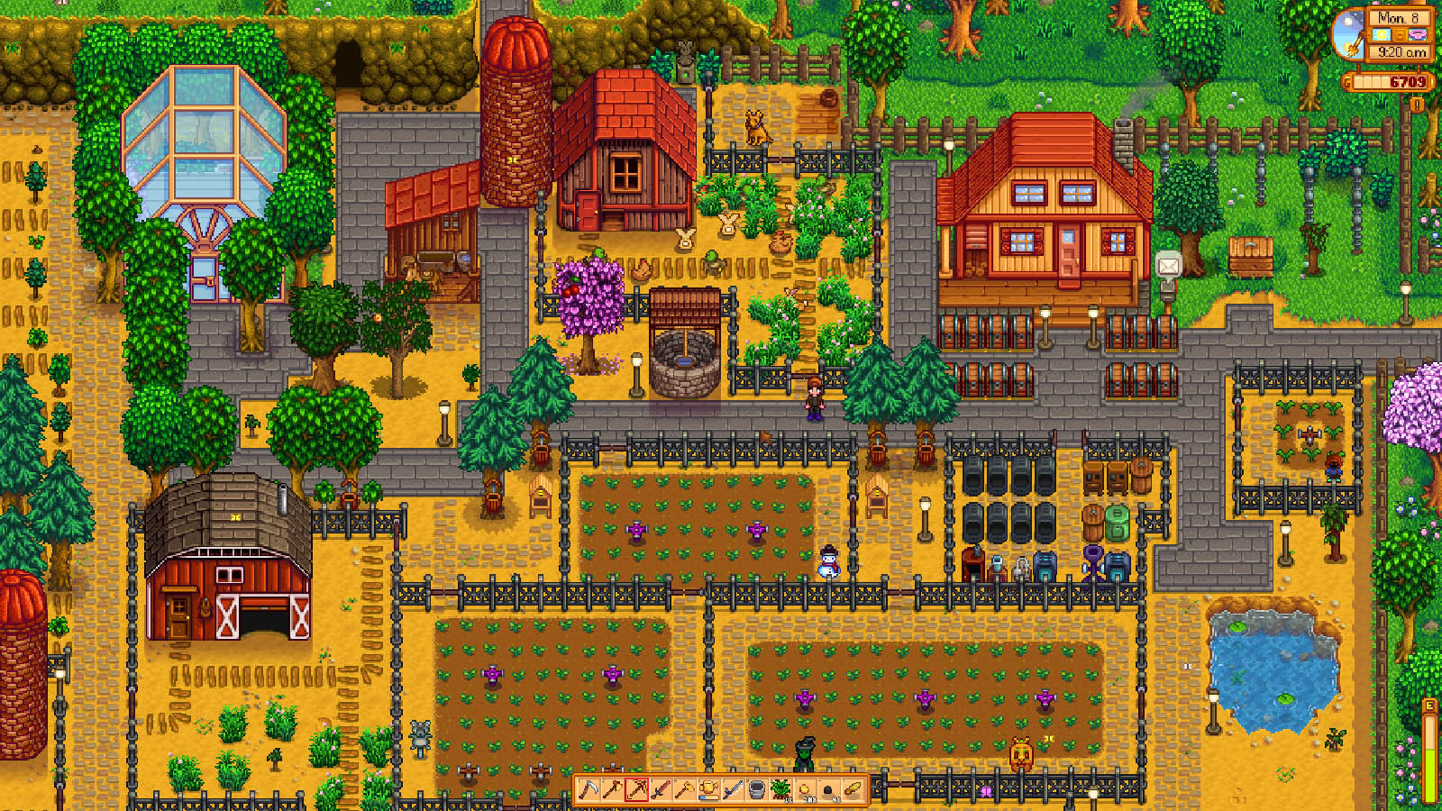 Better Late Than Never: we review Stardew Valley, Inside